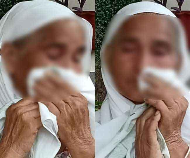 पटियाला में बुजुर्ग मां ने बेटे, बहू व पोती पर लगाया गंभीर आरोप, कहा- मारपीट कर पिलाया पेशाब