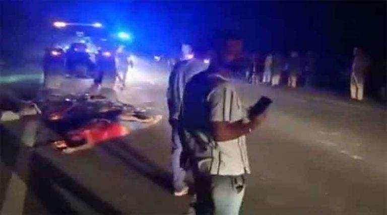 होशियारपुर में हुआ भयानक सड़क हादसा, कार और ट्रक की टक्कर में 4 लोगों की मौत