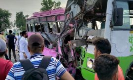 सिद्धू की ताजपोशी में जा रहे कार्यकर्ताओं की बस पंजाब रोडवेज की बस से टकराई, 4 की मौत