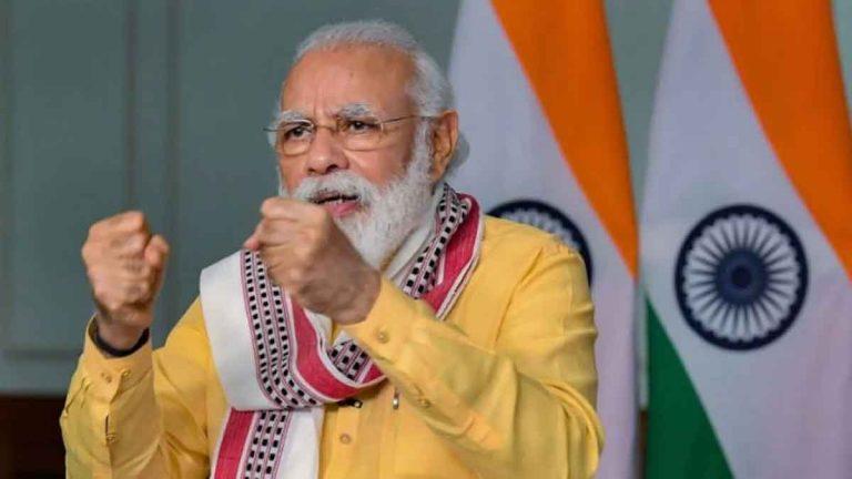 प्रधानमंत्री नरेन्द्र मोदी ने दी विजय दिवस पर शहीदों को श्रद्धांजलि, बोले- कारगिल के शहीदों को याद कर रहा है पूरा देश