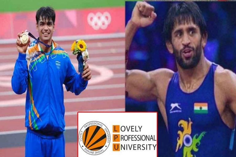 ओलंपिक पदक विजेता नीरज चोपड़ा और बजरंग पुनिया के लिए लवली प्रोफेशनल यूनिवर्सिटी ने लगाई ईनामों की झड़ी…पढ़ें पूरी खबर