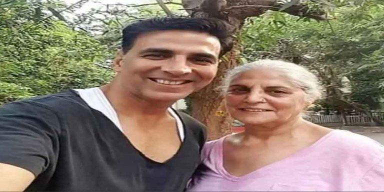 बॉलीबुड अभिनेता अक्षय कुमार की मां का निधन, एक्टर ने भावुक पोस्ट के जरिए दी जानकारी