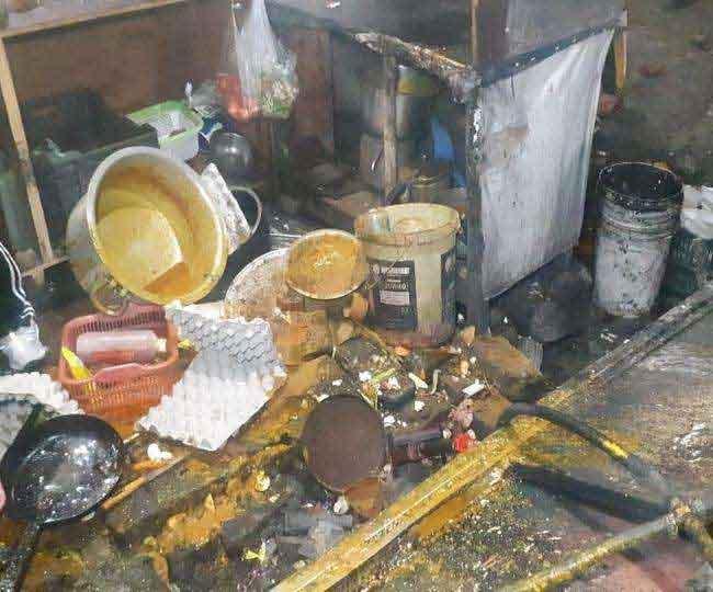 किशनपुरा में देर रात शरारतीतत्वों ने मचाया हुड़दंग, आहते में जमकर तोड़फोड़, आहाता कर्मचारियों को पीटा