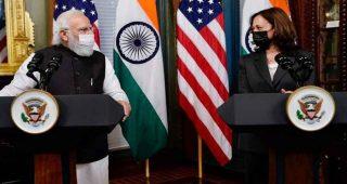 व्हाइट हाउस में पीएम मोदी ने की अमेरिकी उपराष्ट्रपति कमला हैरिस से मुलाकात, भारत आने का दिया न्योता