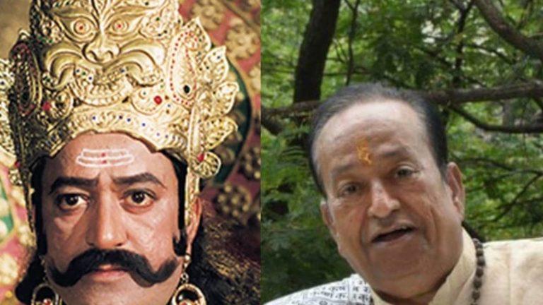 'रामायण' में रावण का किरदार निभाने वाले अरविंद त्रिवेदी का मुंबई में हार्टअटैक से निधन