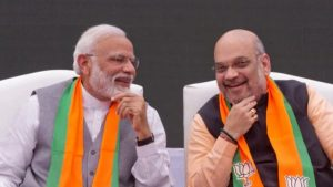 PM Modi congratulates Home Minister Amit Shah on his birthday, says he serves the country and the party with enthusiasm